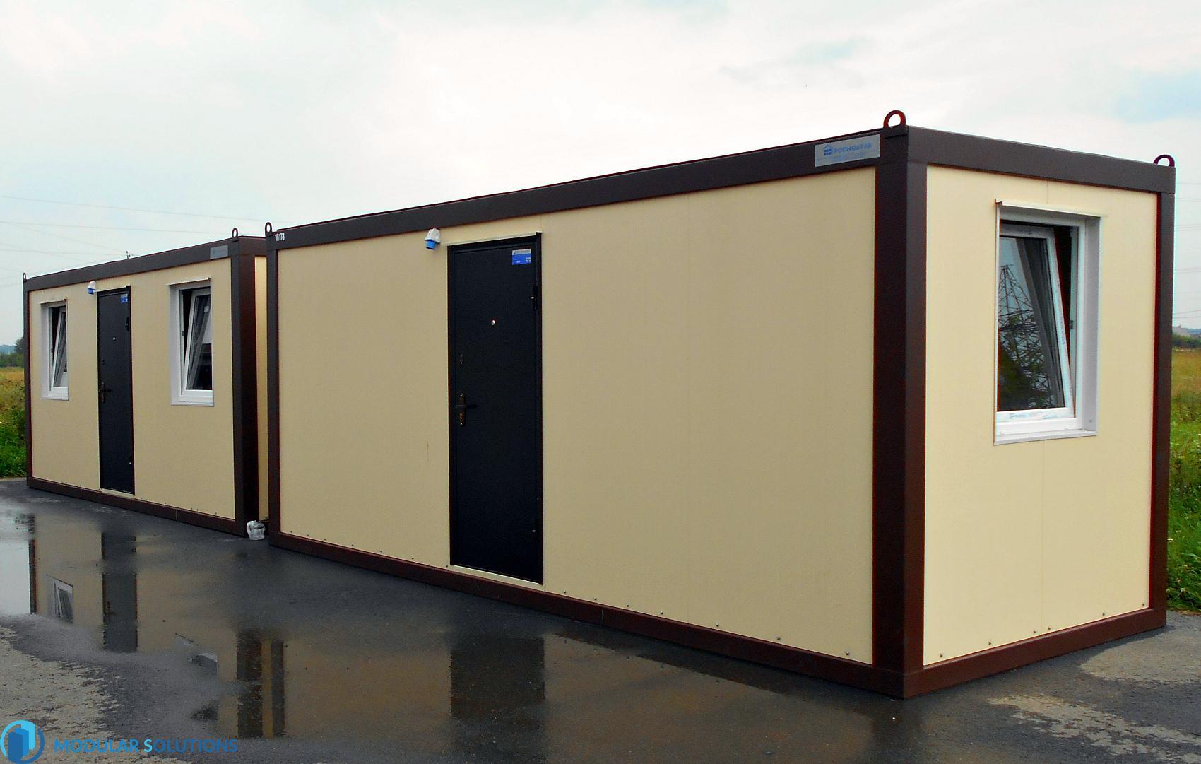 люкс блок-контейнер из сэндвич-панелей