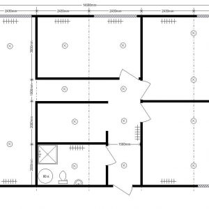 modular residential building 14. 6x8. 0 m
