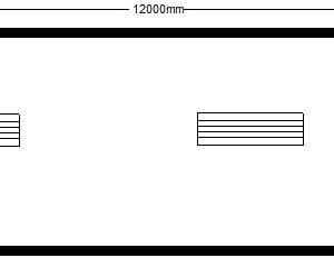 техно 12,00х2,45 м с окном