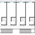 общежитие 9,6х8 м