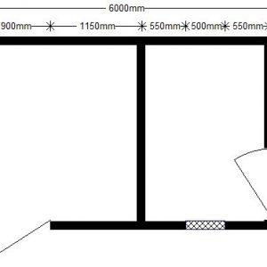 техно 6,0х2,4 м с доп. помещениями