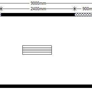 техно 9,0х2,4 м