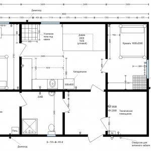 модульное здание 10х6 м