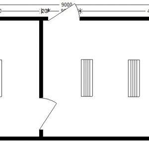 шиномонтаж 9,0х3,5 м с помещениями