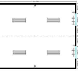 модульная котельная 6,0х4,8 м, 2 окна