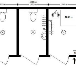 автономный туалет 4,5х2,4 м