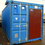 MM – Furnished ISO shipping containers