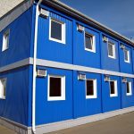 Металлические здания из блок-контейнеров