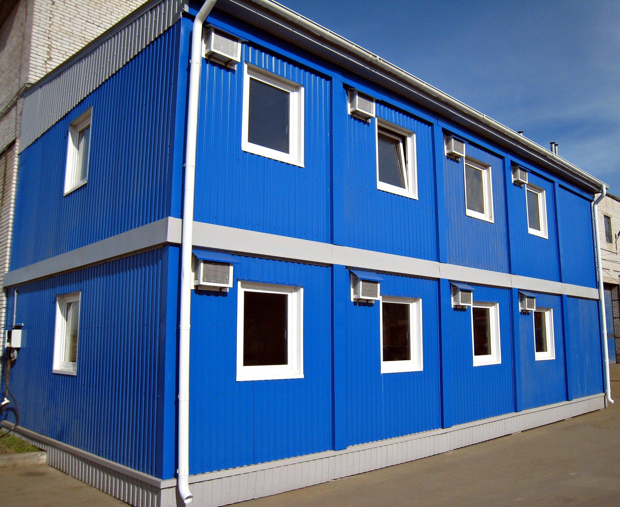 модульный штаб строительства