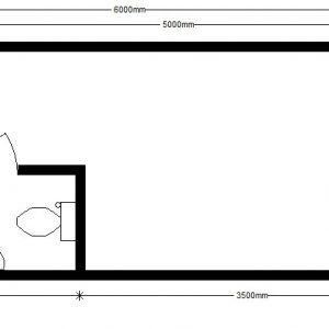 жилой модуль 6,0х2,4 м