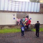 Поставка модульных туалетов для ГМЦ «Царское село»