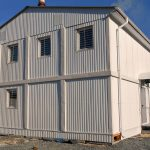 Installation of an office modular building