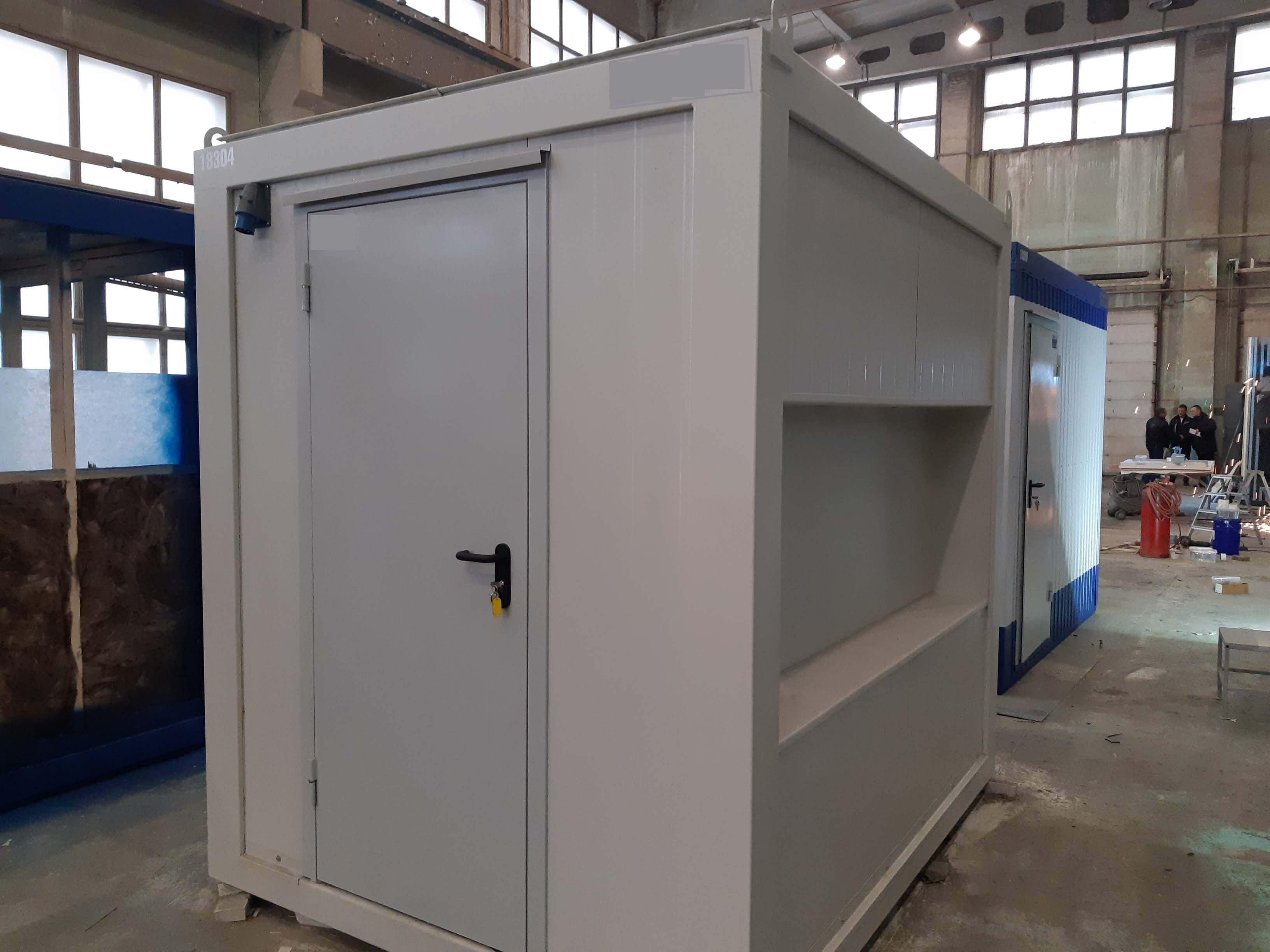 технический блок-контейнер для маслораздачи
