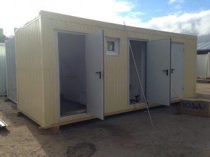 модульный туалет с кассой