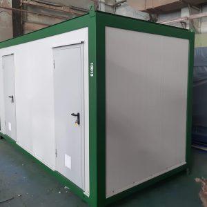 технический блок-контейнер под оборудование