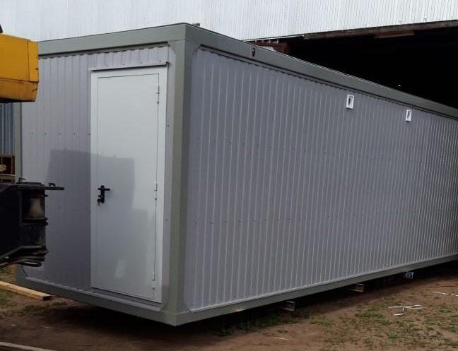 санитарный автономный блок-контейнер