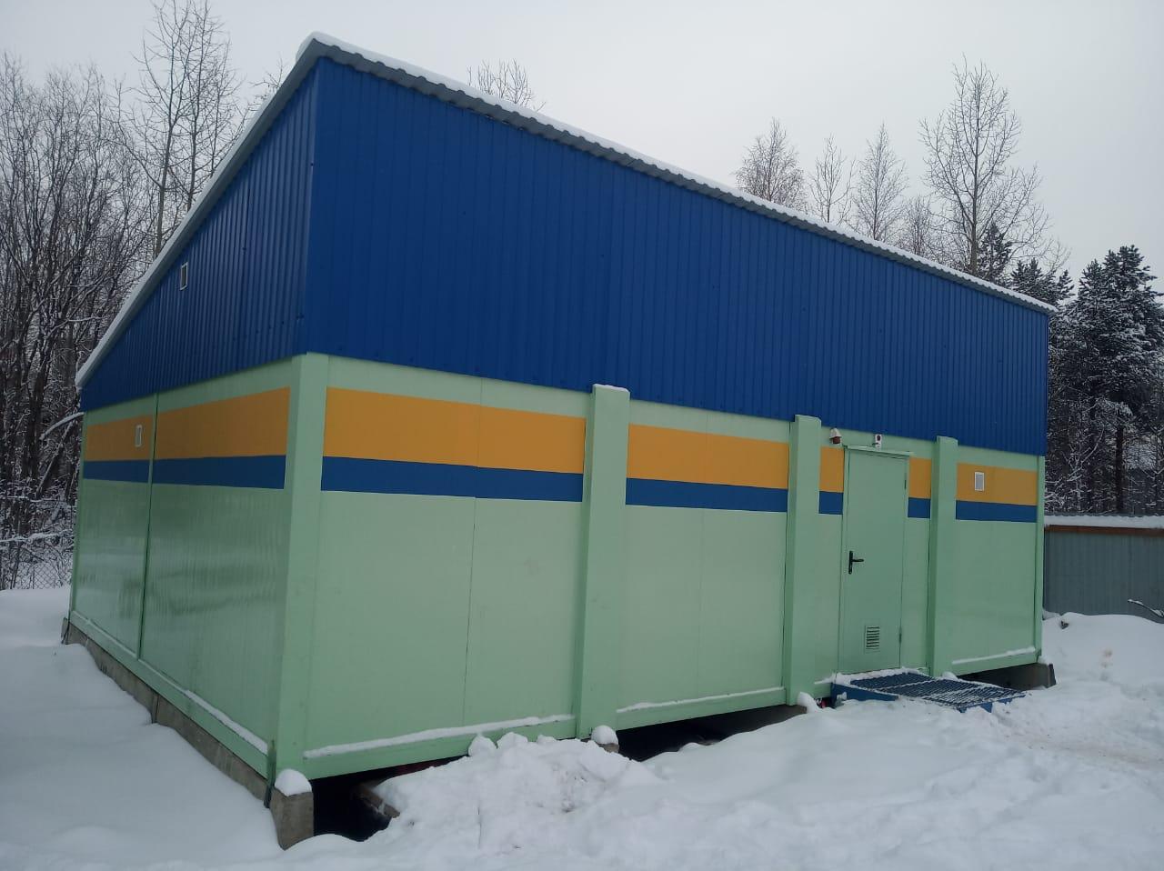модульное здание электроподстанции