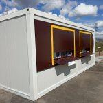 Кафе-модуль для автозаправочной станции