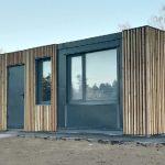 Modular buildings for public spaces