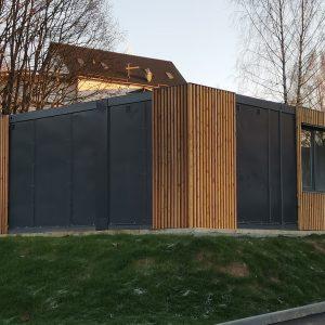 контейнерное здание лиственница