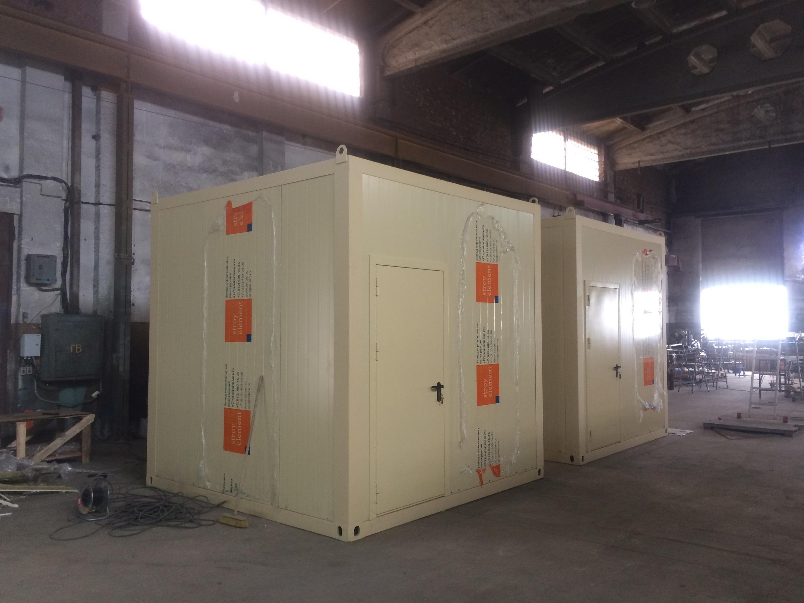 контейнер водоподготовки