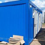 Modular toilet for a enterprise recreation center
